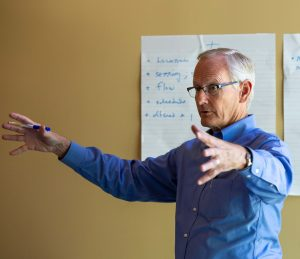 Mark Shaw teaching the Daily Examen